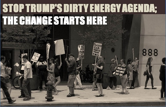 Sign on to Stop Trump's Dirty Energy Agenda15