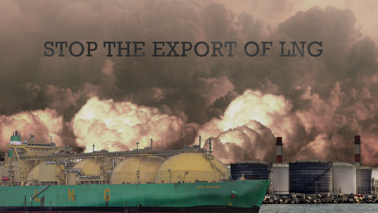 Petition to stop all LNG export projects across the U.S.14