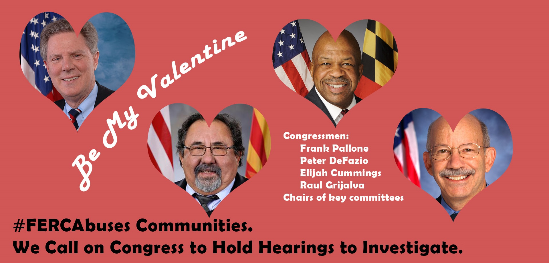 Tell Congress Time to Investigate FERC!17